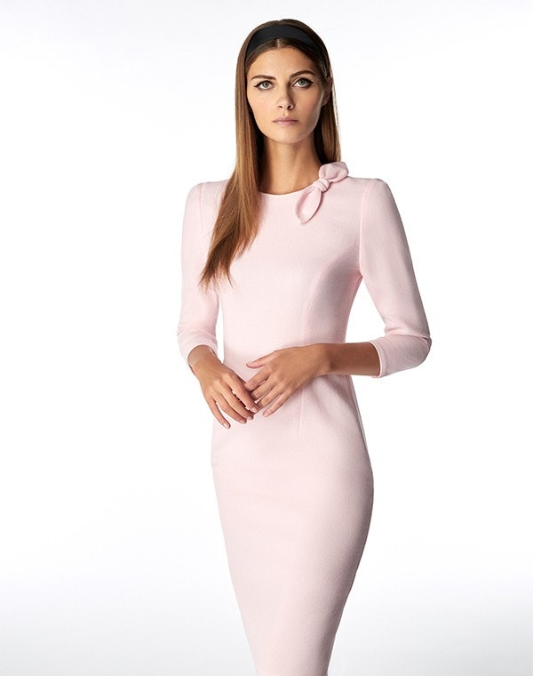Jenna Dress Rose