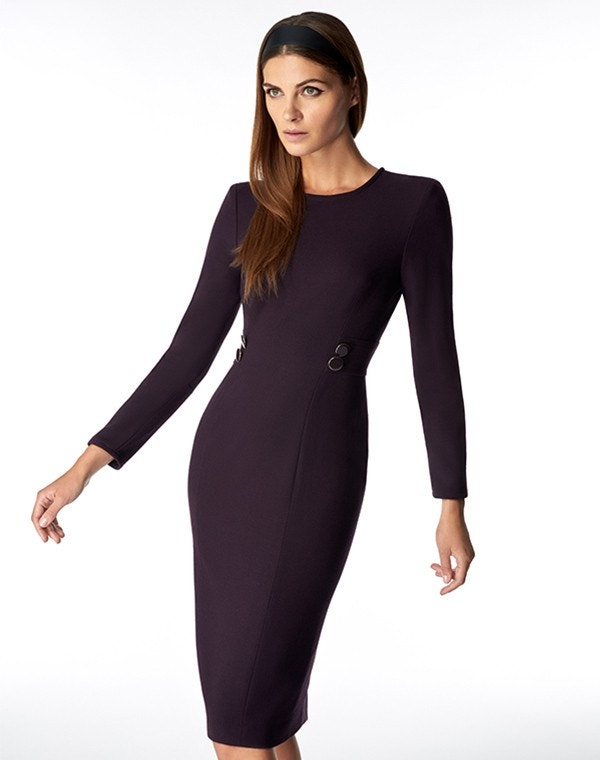 Jennifer Dress Blackcurrant