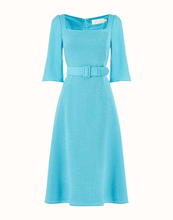 Jubilee Dress Turquoise