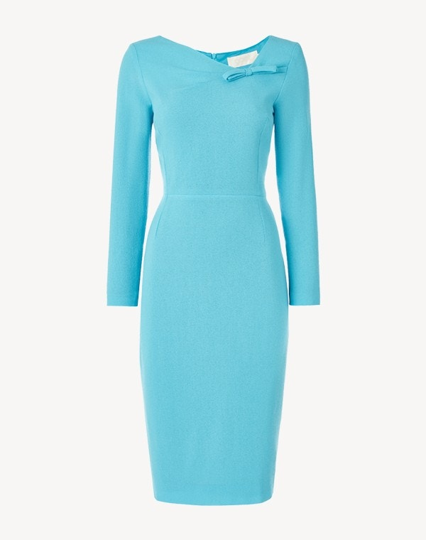 Justine Dress Turquoise