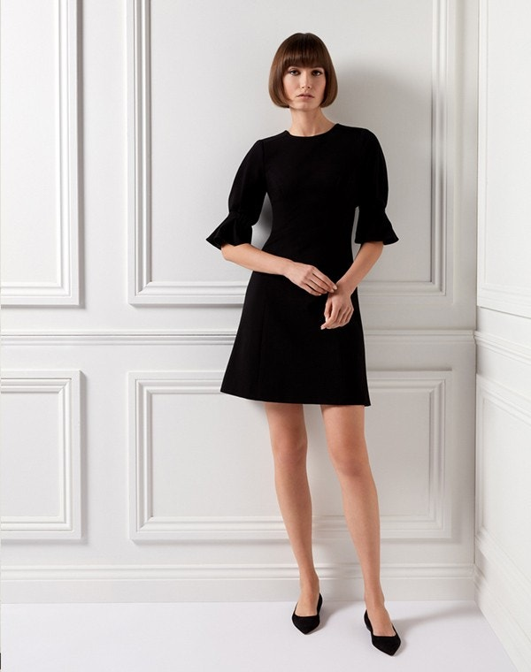 Kerry Jersey Dress Black