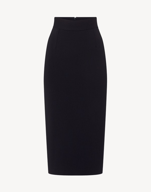 Kody Jersey Skirt Dark Navy