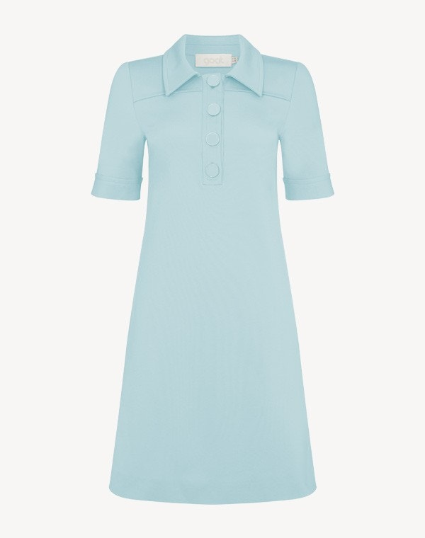 Lula Dress Pale Blue