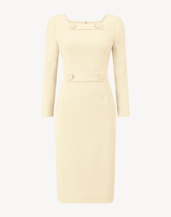 Maxine Dress Cornish Yellow