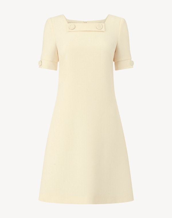 Muriel Dress Cornish Yellow