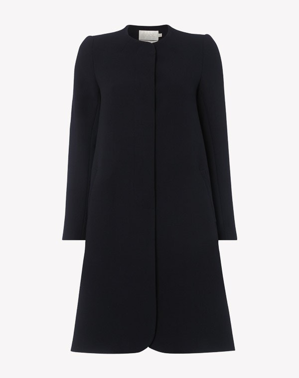 Redgrave Longer Length Coat Dark Navy