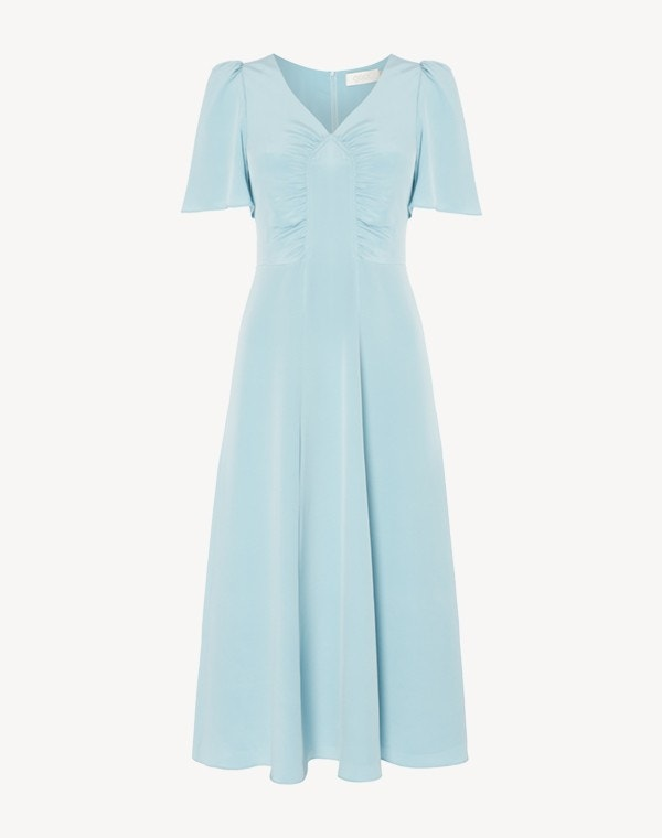 Rosemary Dress Sky Blue