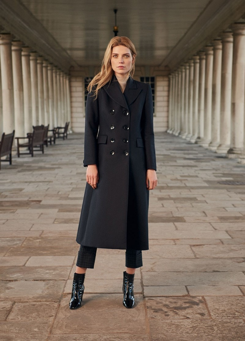 Captain Coat Dark Navy