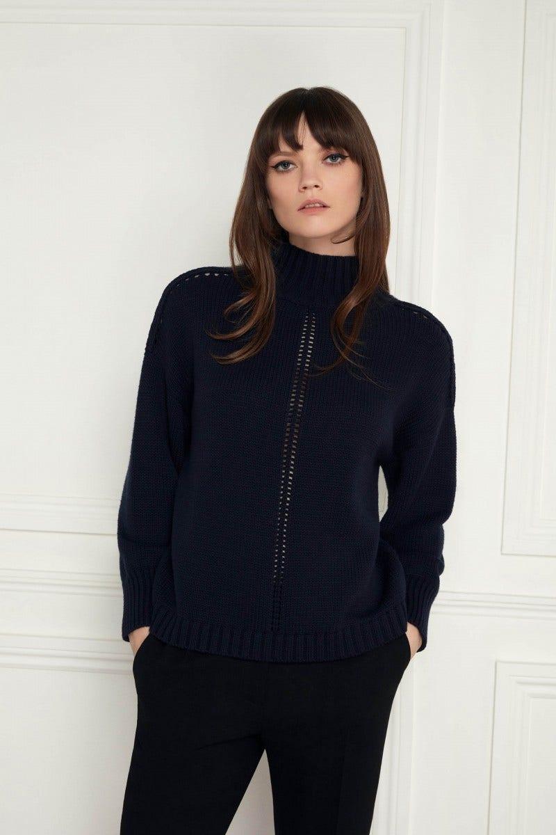Kris Sweater Dark Navy