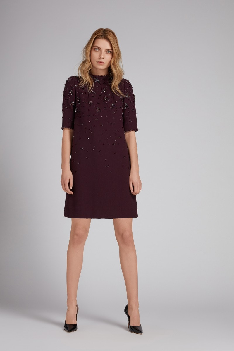 Alexa Dress Damson