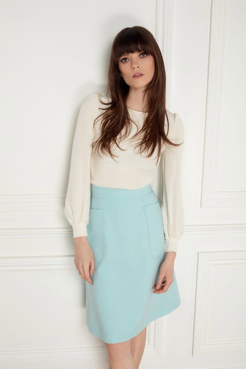Mila Skirt Aqua