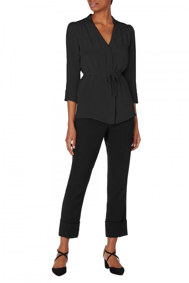 Brittany Blouse Black