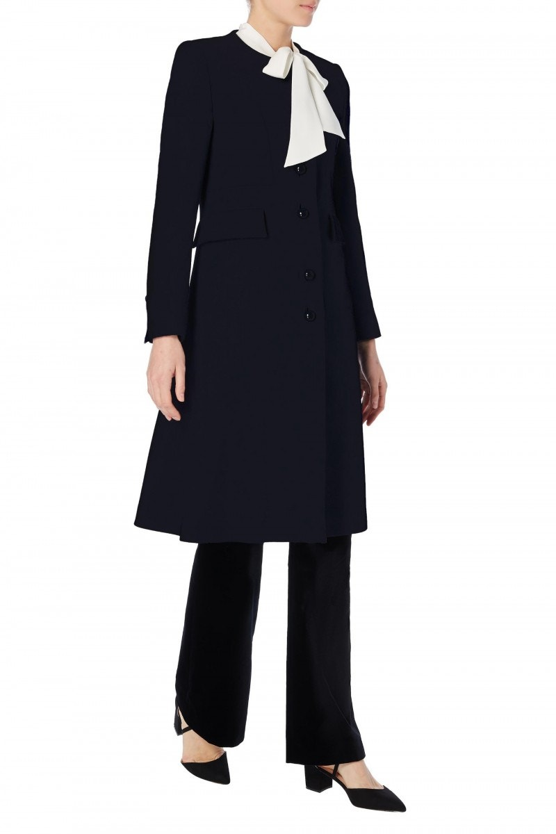 Hampton Coat Dark Navy