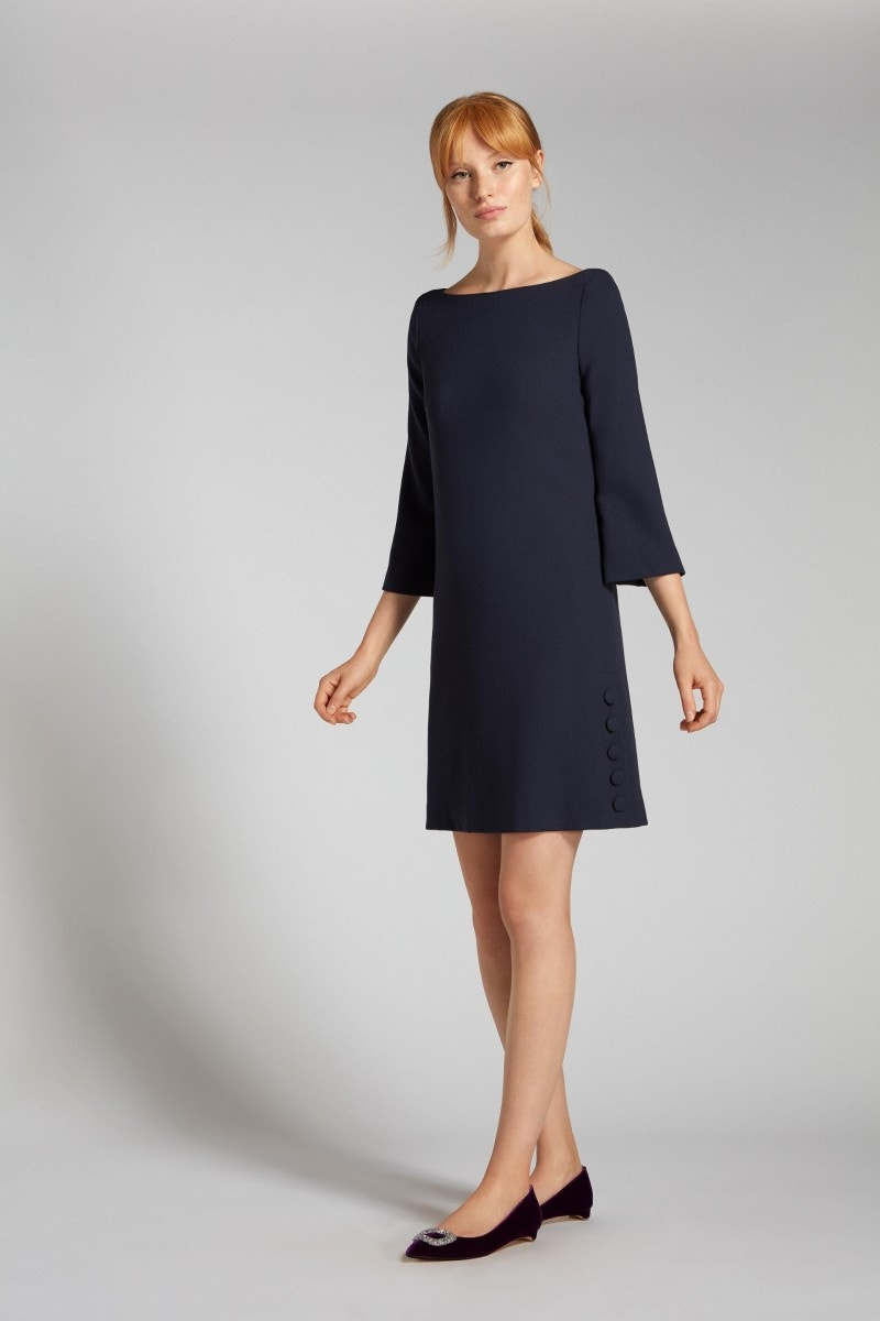 Harlow Dress Indigo