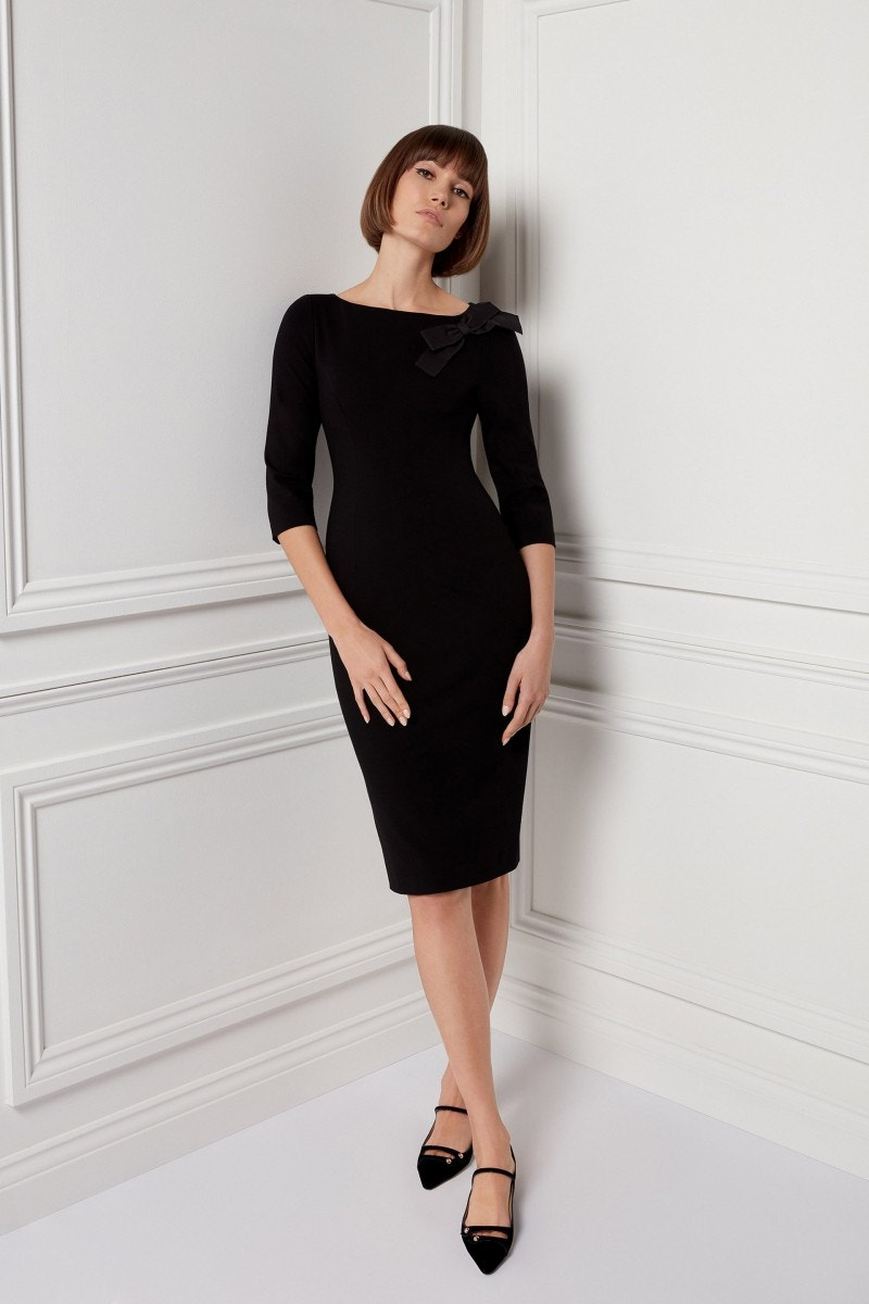 Henriette Dress Black