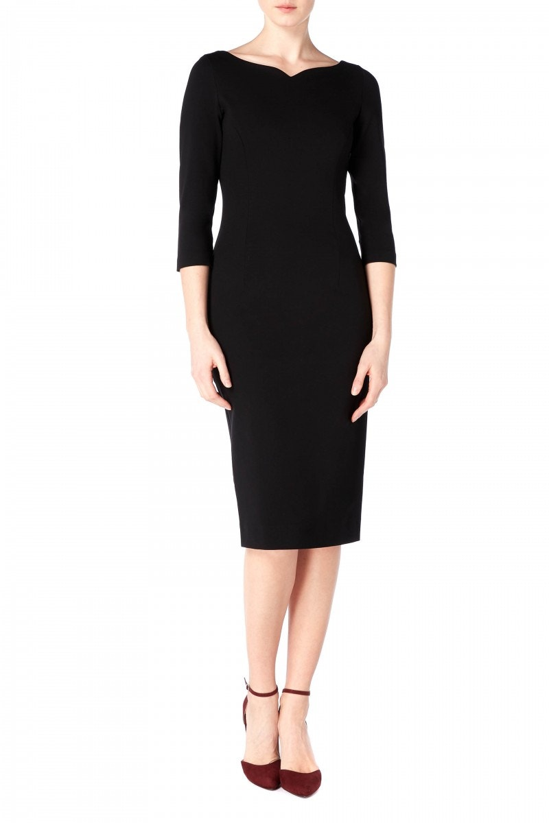 Hilton Dress Black