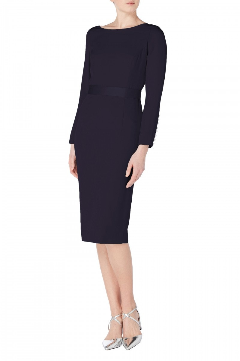 Joyce Cady Dress Midnight