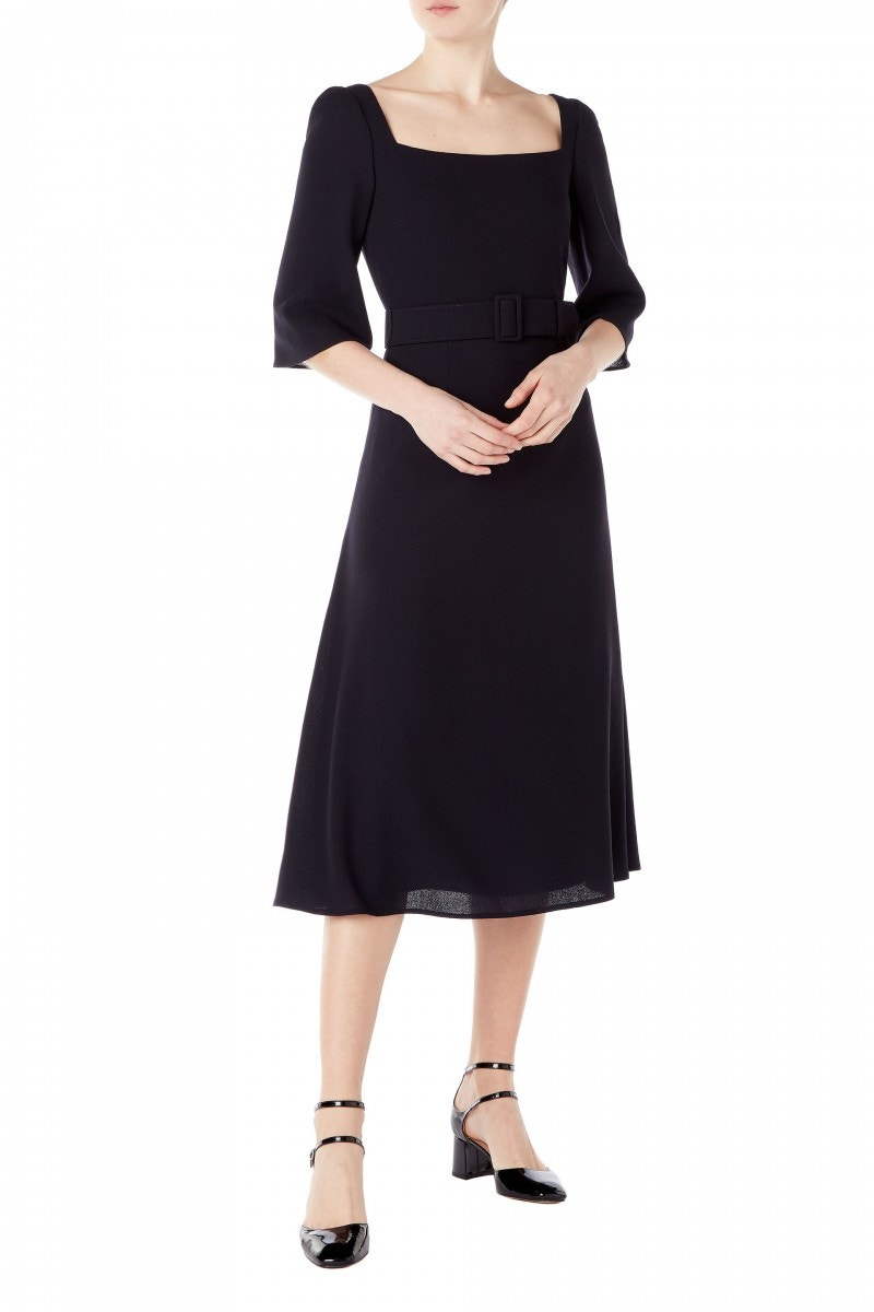 Jubilee Dress Dark Navy