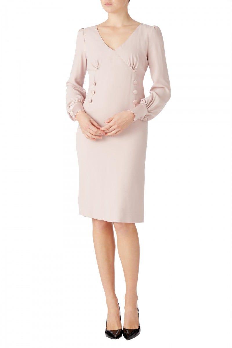 Kacey Cady Dress Cameo Pink