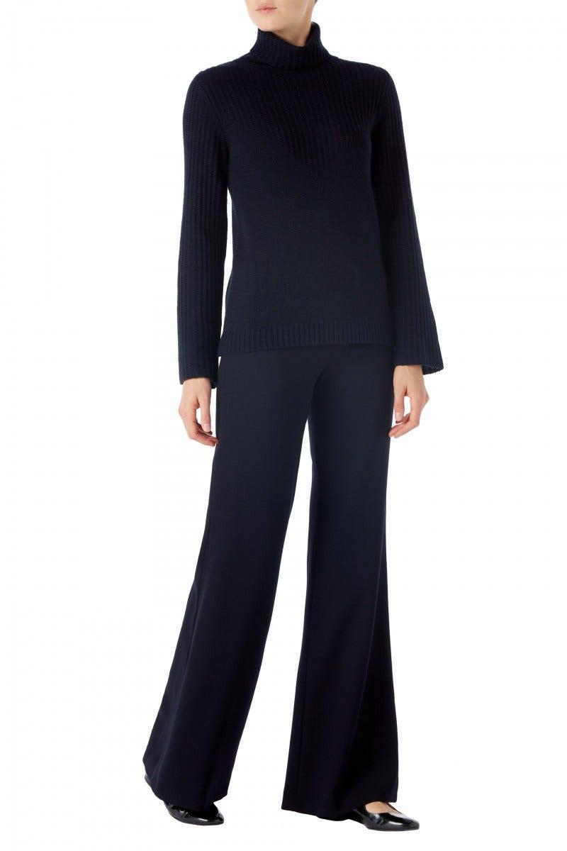 Kenya Cashmere Sweater Dark Navy