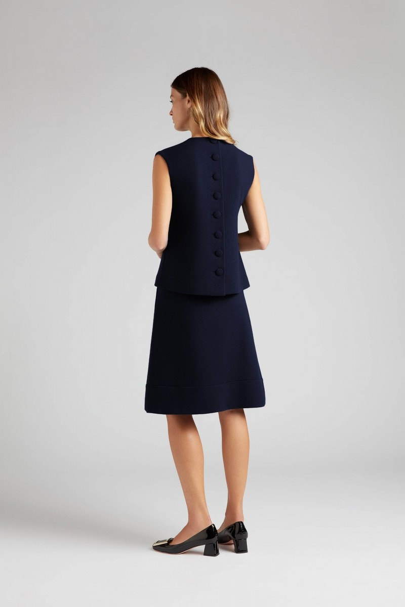 Koral Skirt Dark Navy