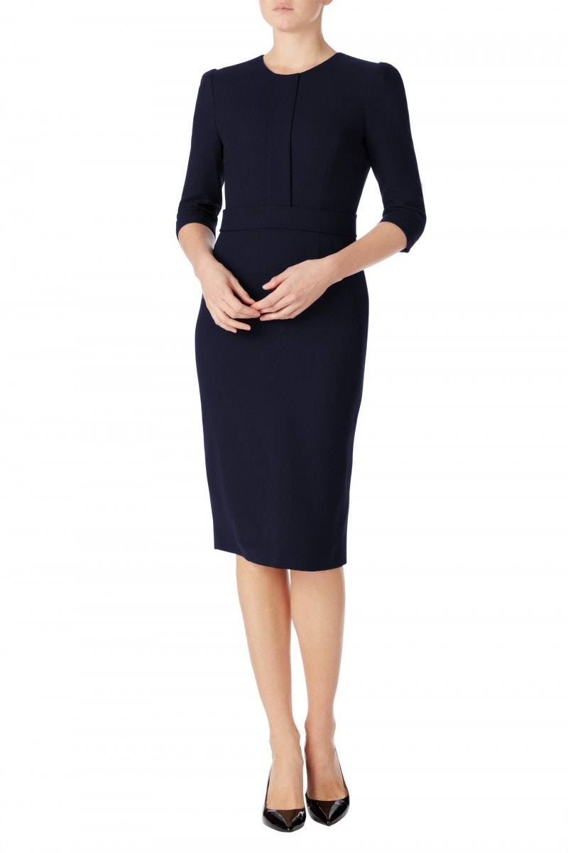Layla Dress Dark Navy