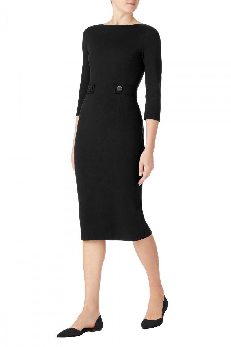 Loretta Jersey Dress Black