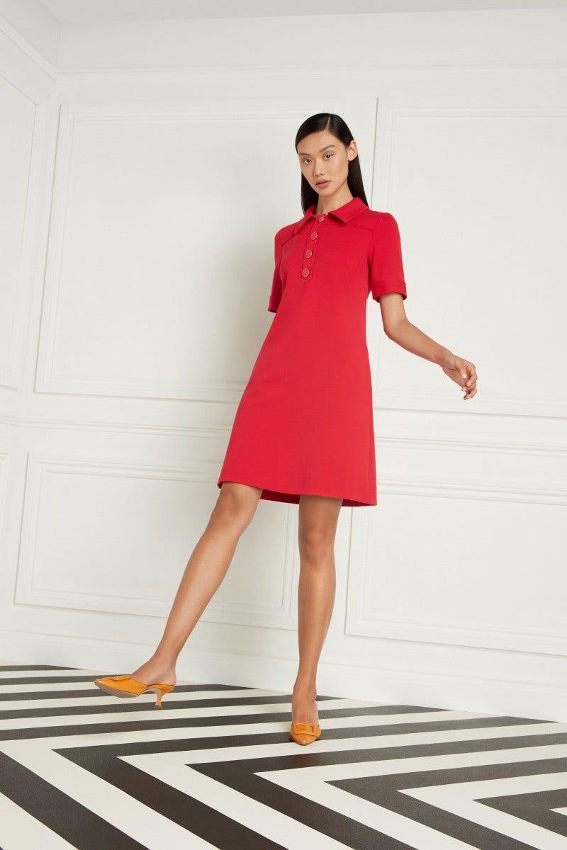 Lula Dress Raspberry