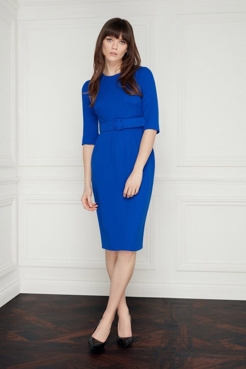 Madison Dress Regal Blue