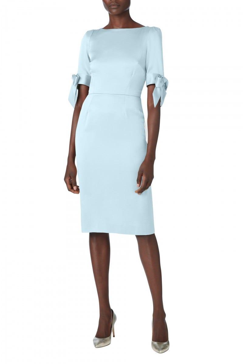 Marquise Cady Dress Pale Blue
