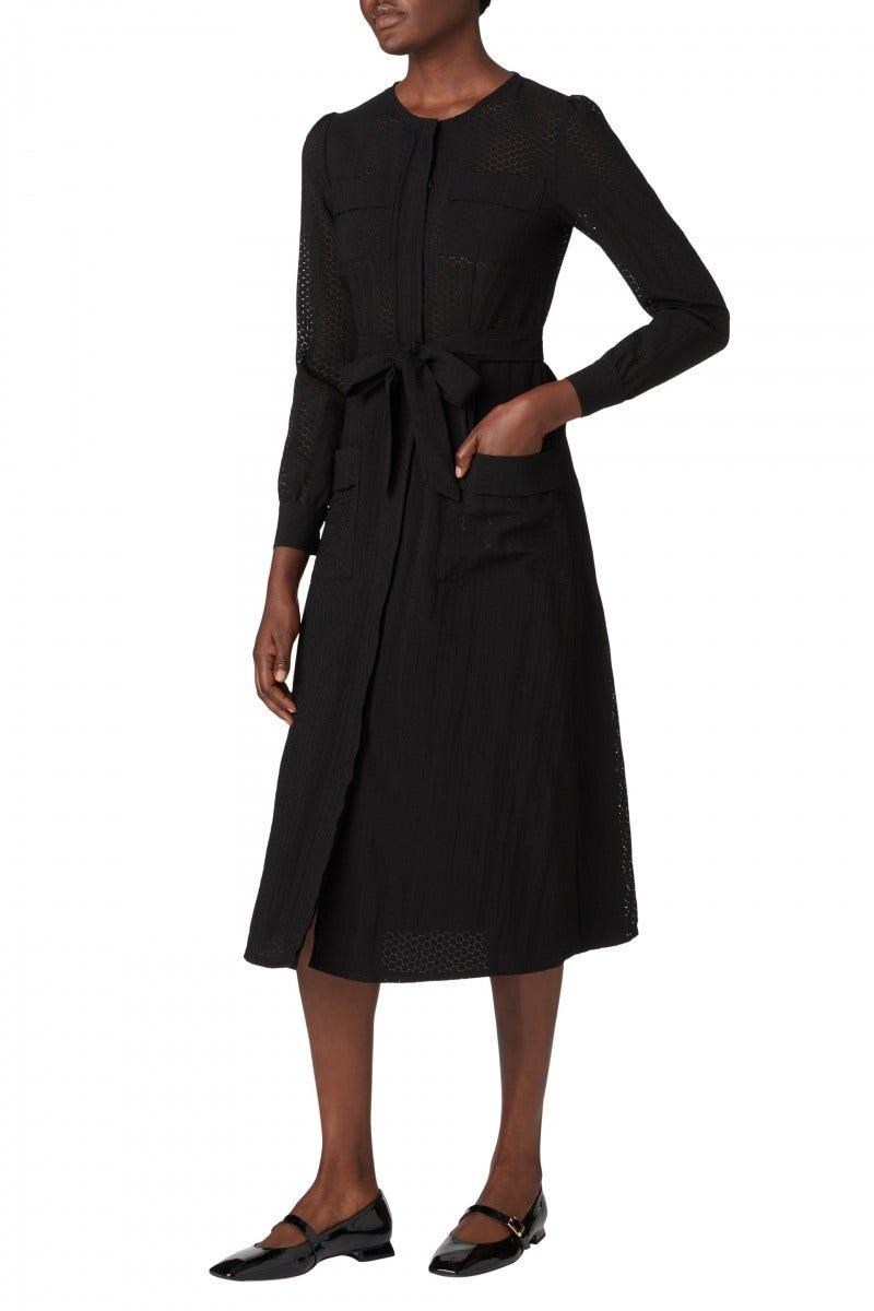 Mayflower Dress Black Spot