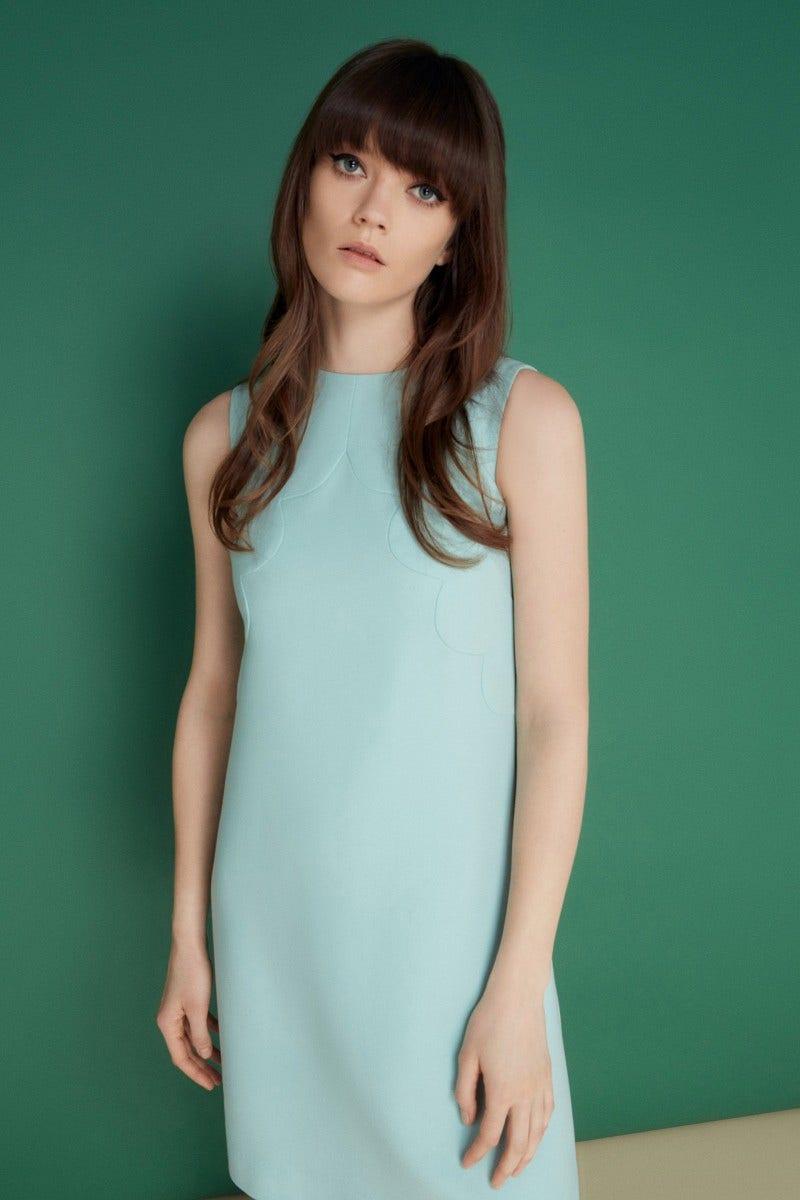 Monique Dress Aqua