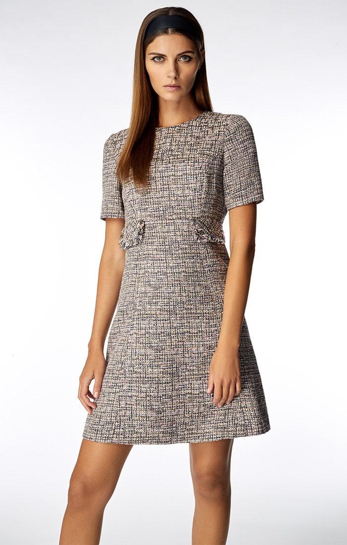 Goat Fashion Joelle Pink Tweed