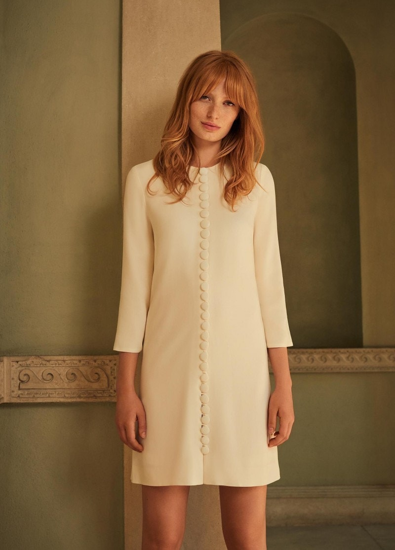 Houston Dress Cream