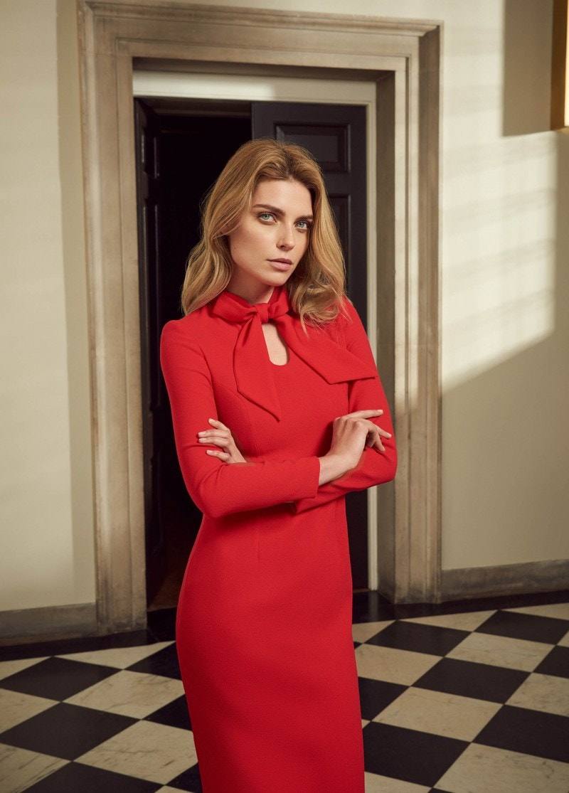 Isabelle Dress Red