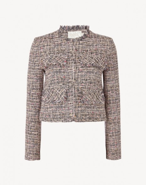Coco Jacket Pink Tweed