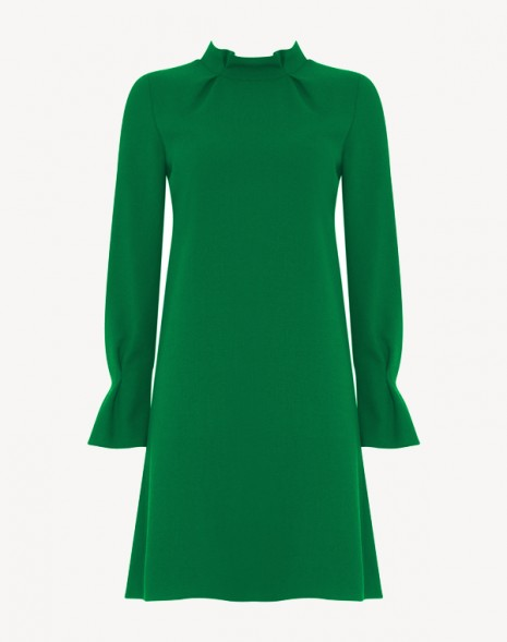 Elodie Dress Apple Green