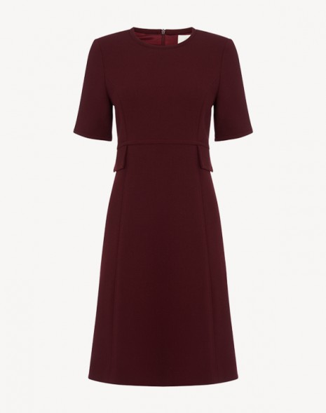Geranium Dress Plum