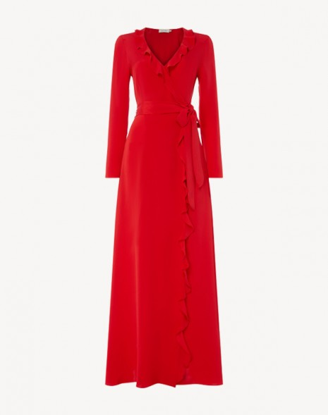 Hollywood Maxi Dress Red
