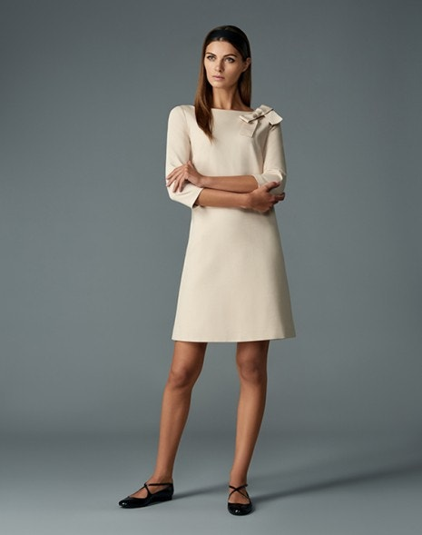 Jemma Dress Beige