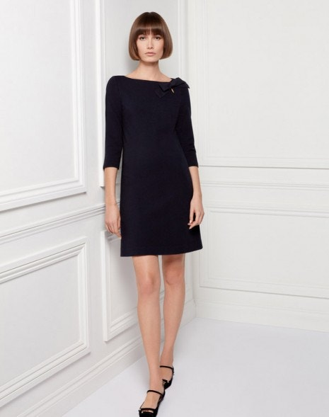 Jemma Dress Dark Navy