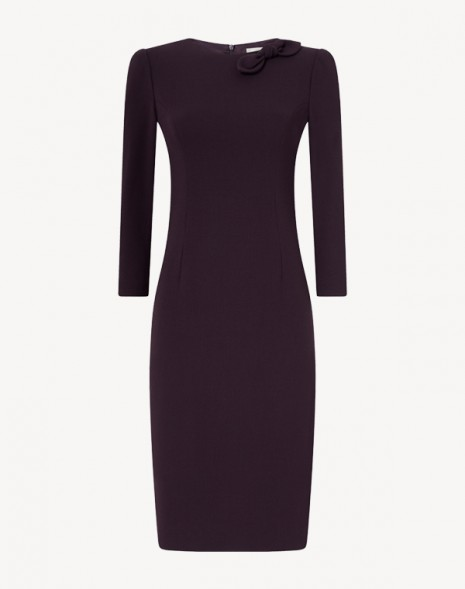 Jenna Dress  Blackcurrant