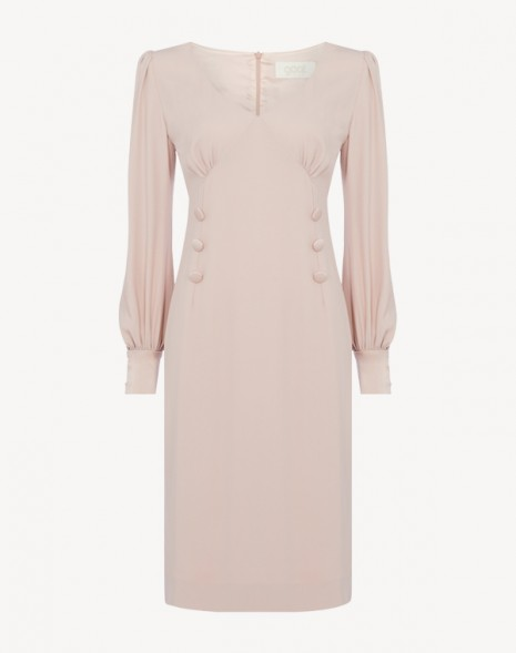 Kacey Cady Dress Cameo Pink