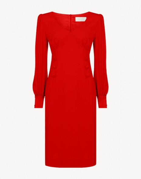Kacey Cady Dress Red