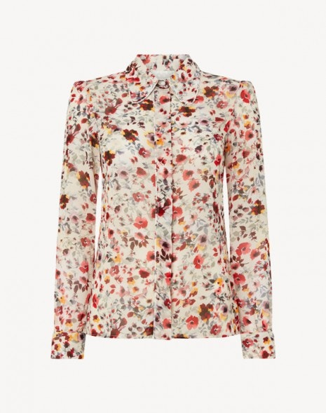 Kamber Shirt Pink Wildflower