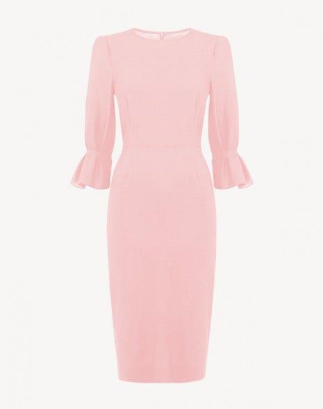 Karmine Dress Fondant Pink
