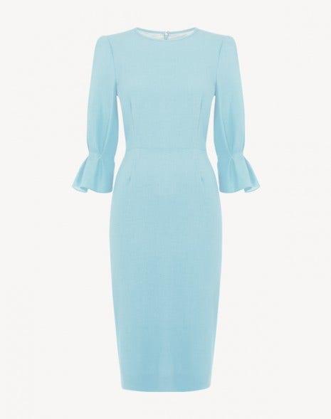 Karmine Dress Frost Blue