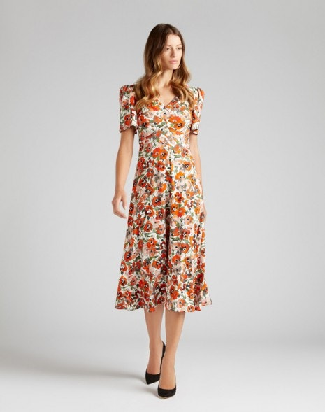 Katie Dress Red Poppy