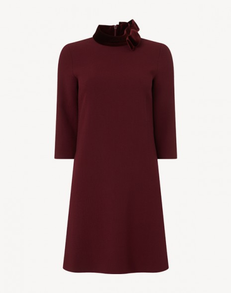 Kensington Dress Plum