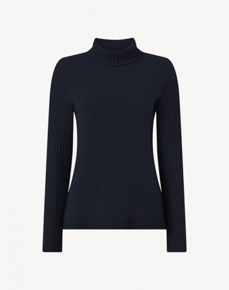 Kenya Cashmere Sweater Dark Navy